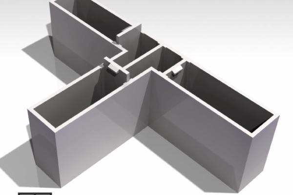 T maze with doors