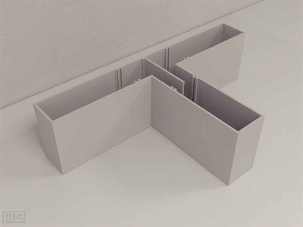 T maze is an enclosed apparatus in the form of a T placed horizontally