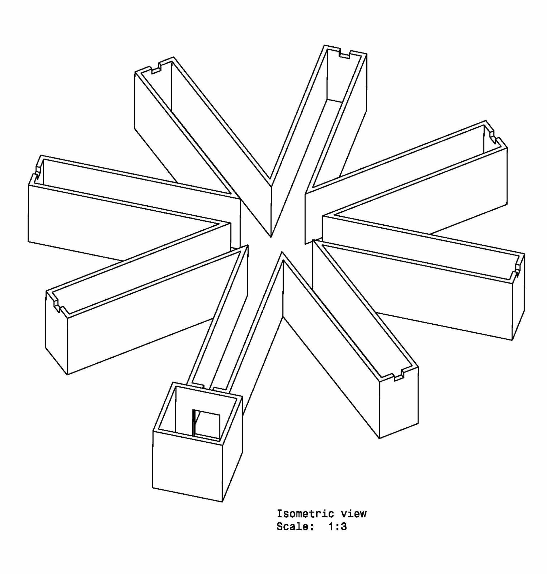 Radial Arm Maze - Goal Box - Mouse - Image 1