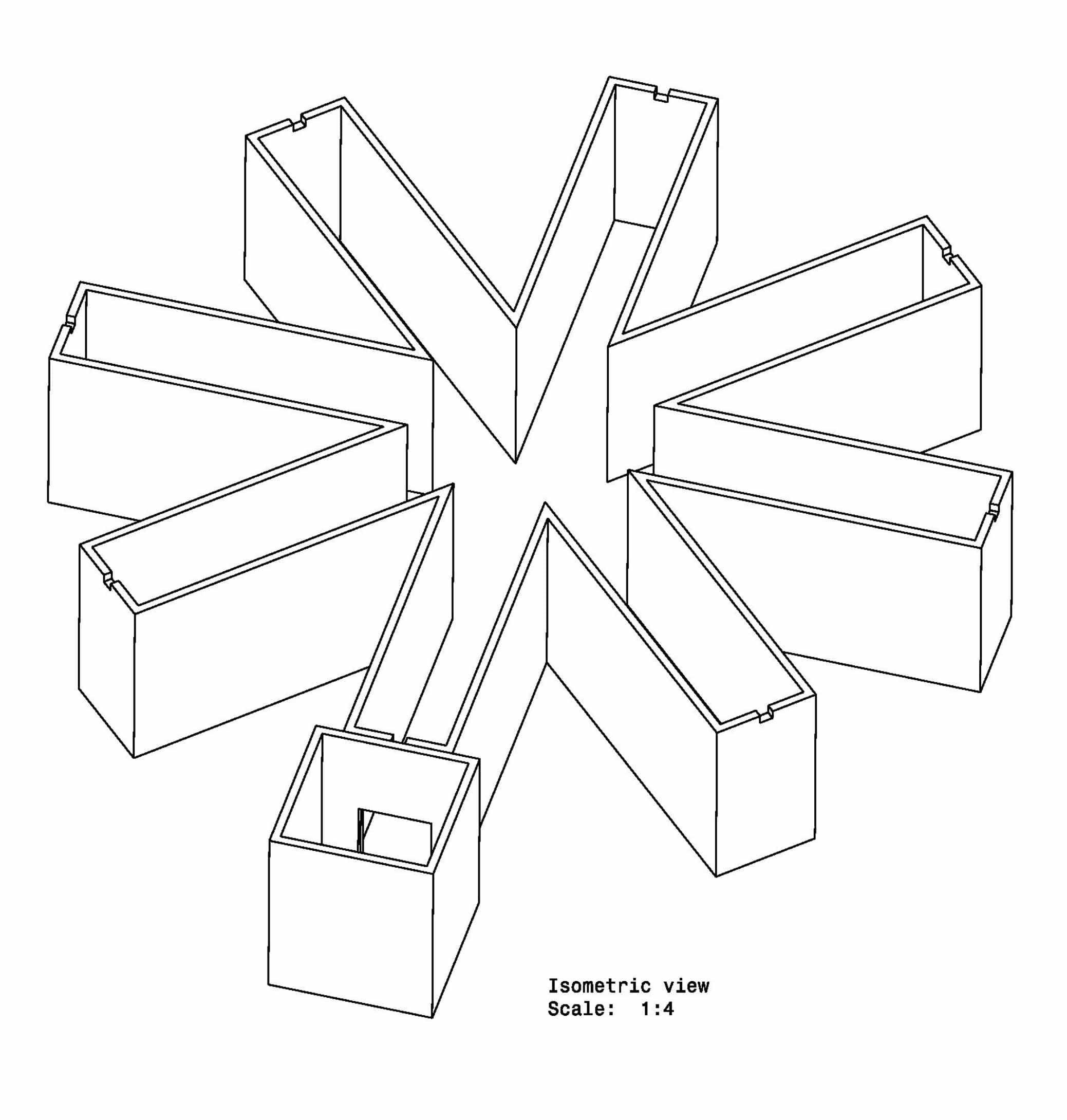 Radial Arm Maze - Rat Goal Box - Image 1