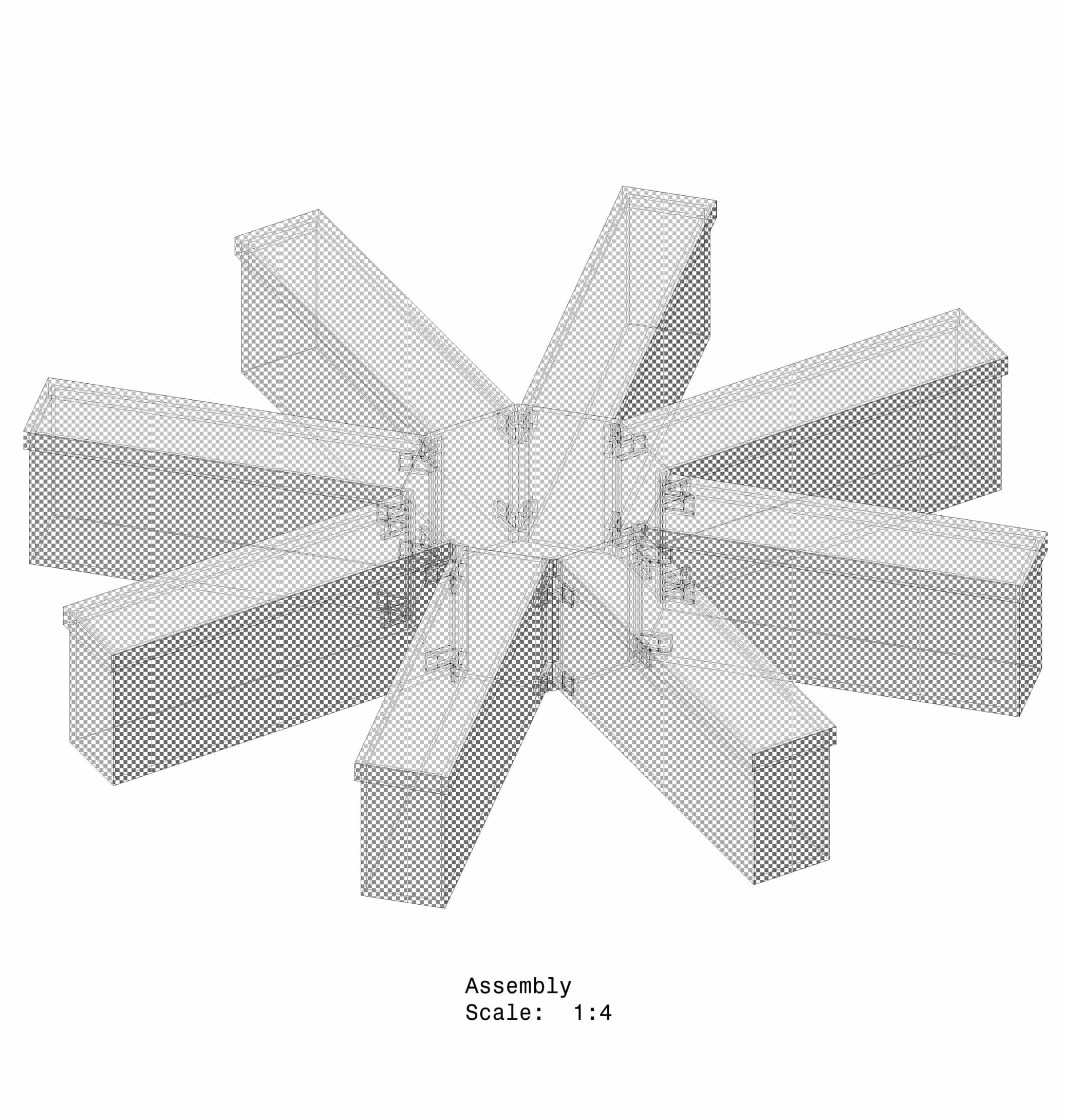 Radial Arm Maze - Removable Model - Rat (Image 1)