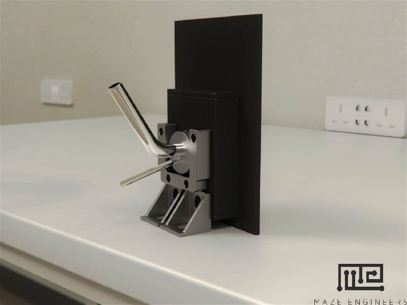 Maze Engineers automated Lickometers utilizes precise optical detection to measure licks with a water or sucrose reward