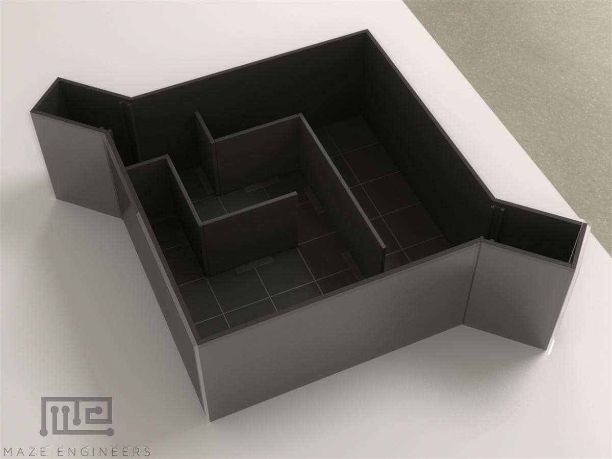 Hebb-Williams Maze is a behavioral task used for studying spatial working memory animals