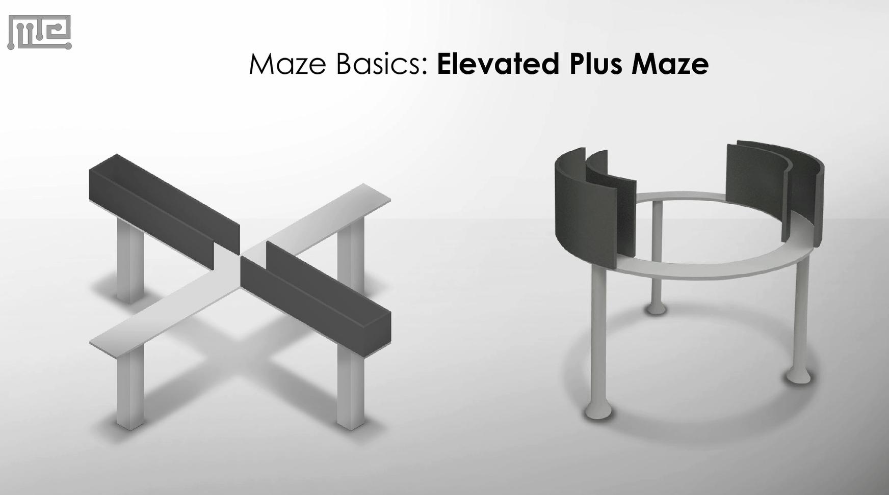 Elevated Plus Maze Apparatus and zero maze