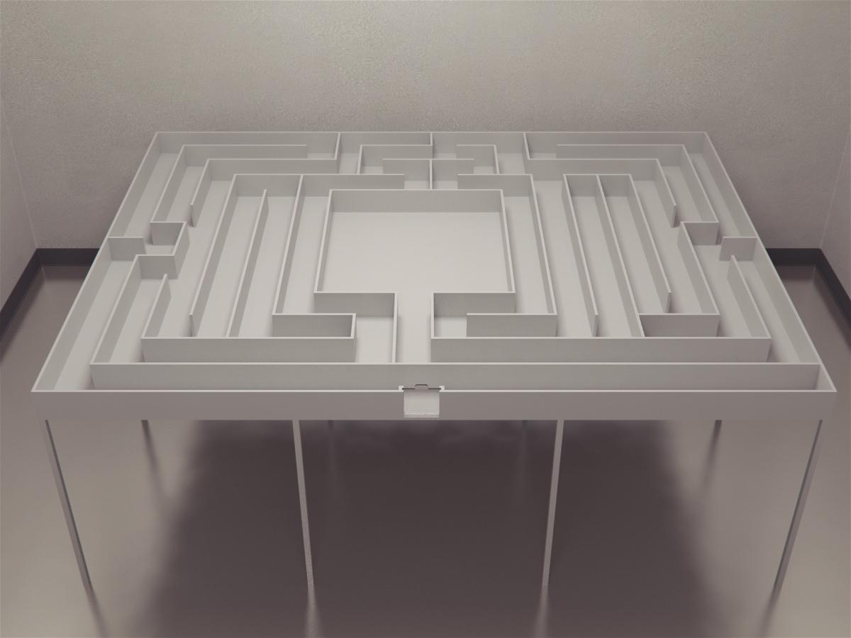 Modern Version of Small's Hampton_court_maze