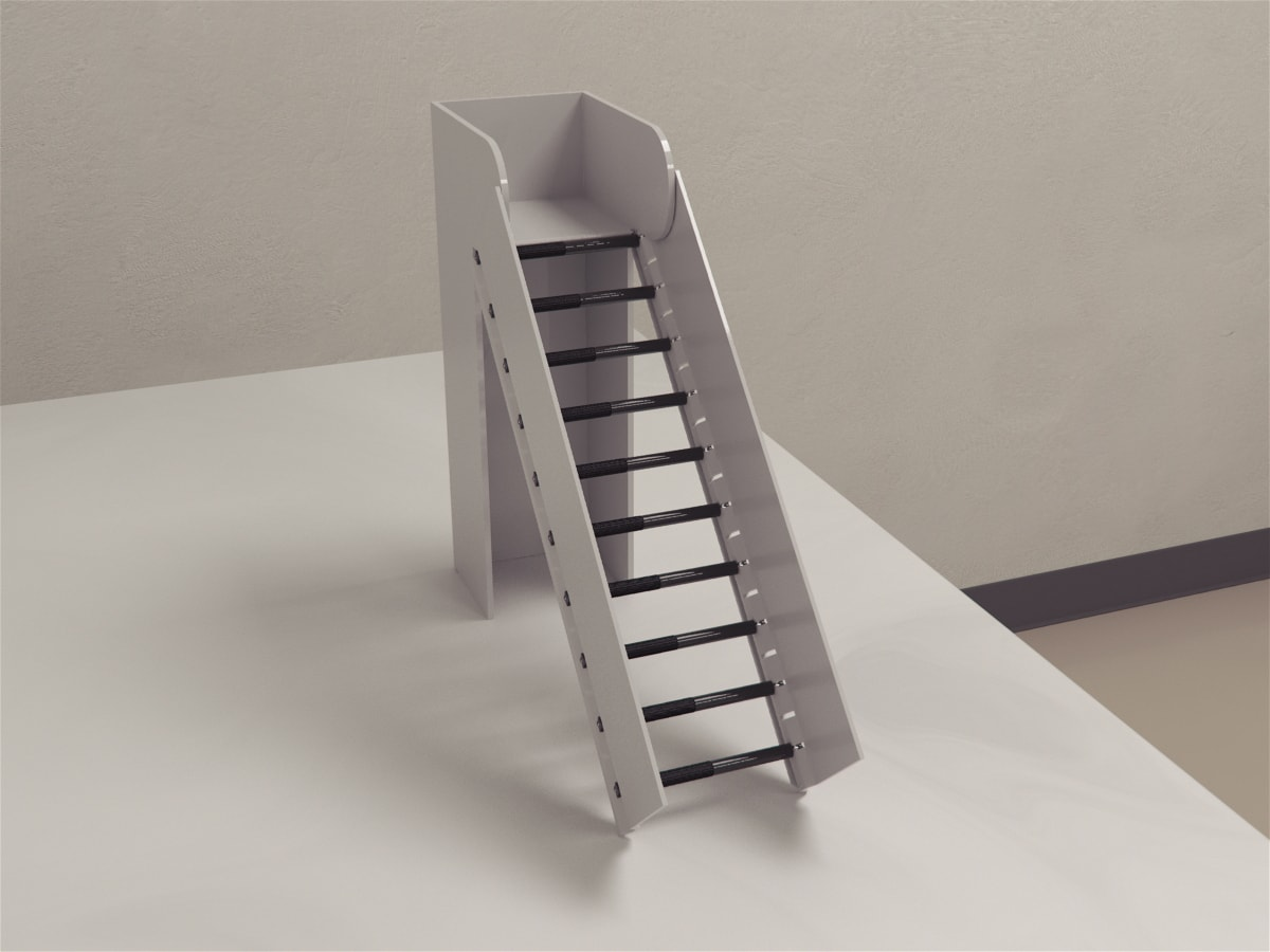 Incline Rolling Ladder
