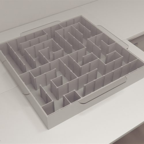 Cyborg maze was created by Yu Y et al. (2016), in an experiment carried out to demonstrate how rat cyborgs can expedite the maze escape task with the integration of machine intelligence