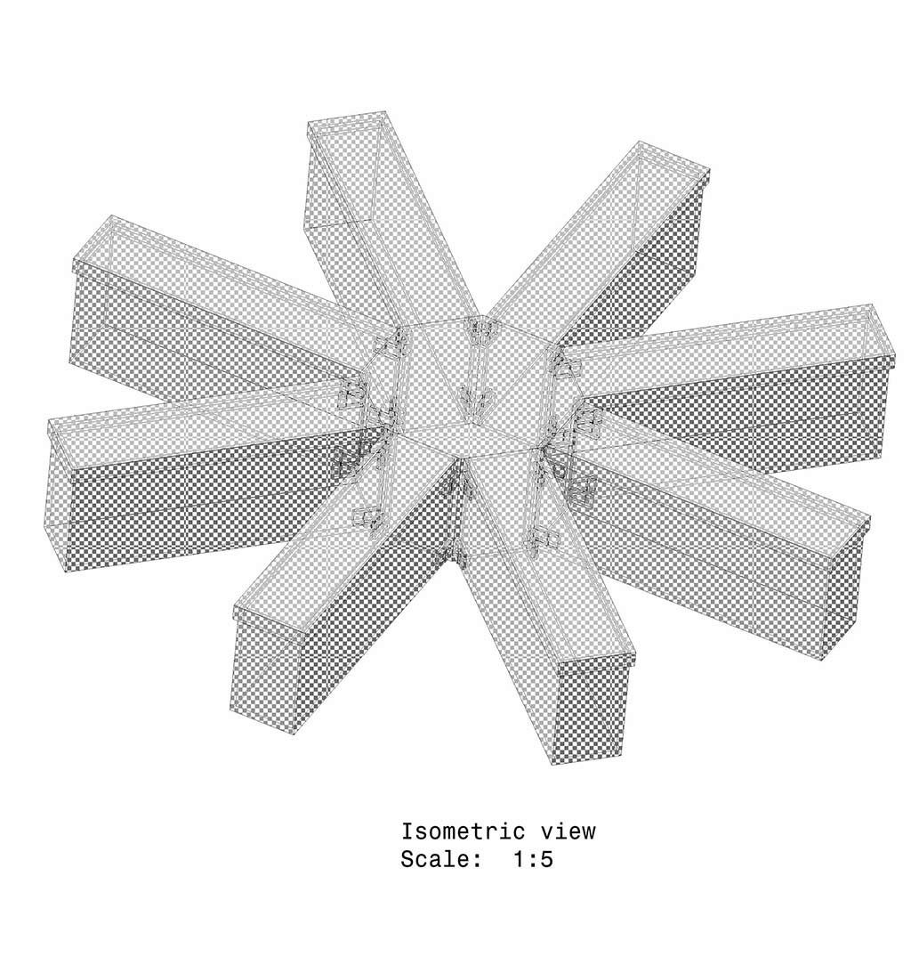 Radial Arm Maze - Removable Model - Mouse