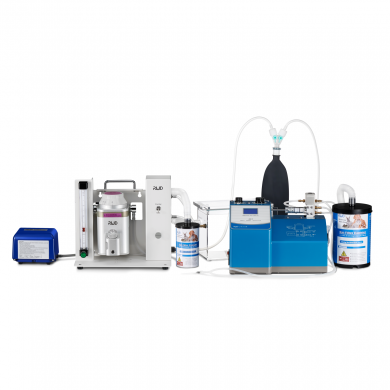Ventilator Assisted Passive Anesthesia System