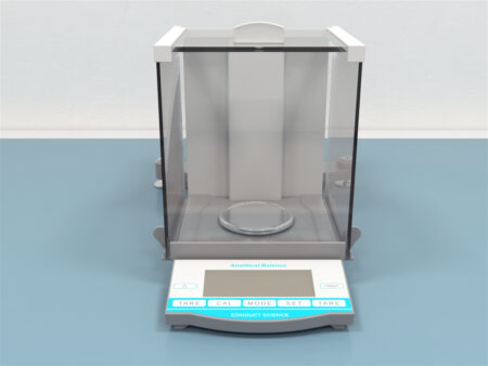 Analytical Balance a combination of built-in electromagnetic sensor technology and precision mechanical components to configure exceptionally accurate weight determinations