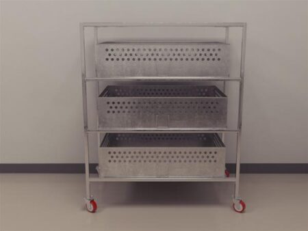 Guinea Pigs Pans and Trolley