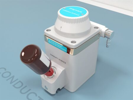 Anesthetic vaporizers are used in the administration of volatile anesthetics.
